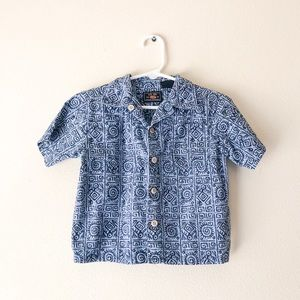 {Route 66} Tribal Button Down